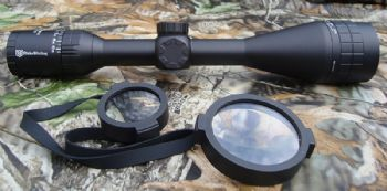 Nikko Stirling Panamax 4.5-14x50 Wide Angle AO Parallax HALF Mil DOT Reticle scope